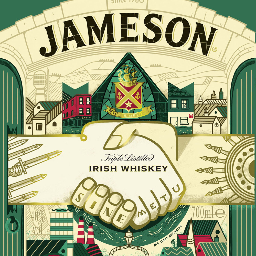 Jameson Limited edition Bottle design 2017