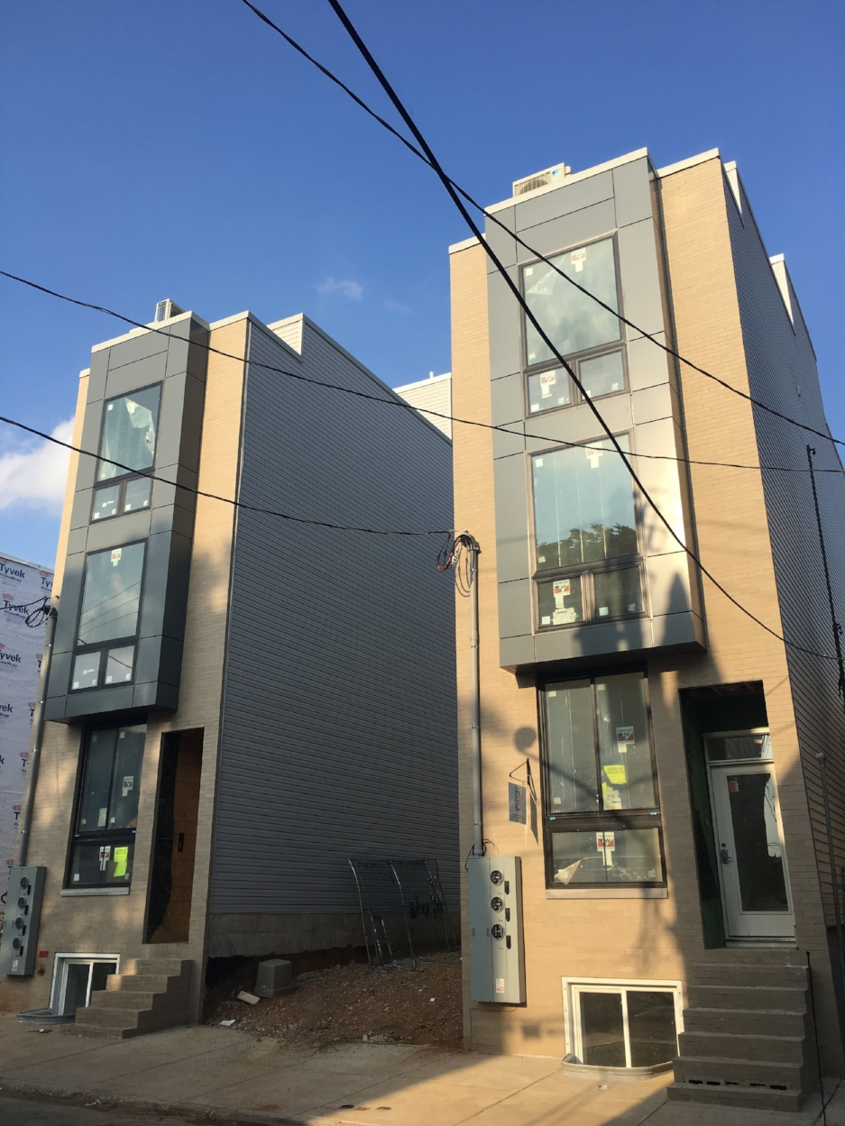 NEW CONSTRUCTION MULTIFAMILY BUILDINGS IN BREWERYTOWN: SOLD PRIOR TO COMPLETION -