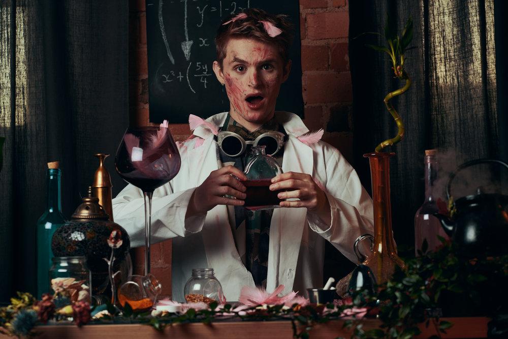 Alex Love potion shoot
