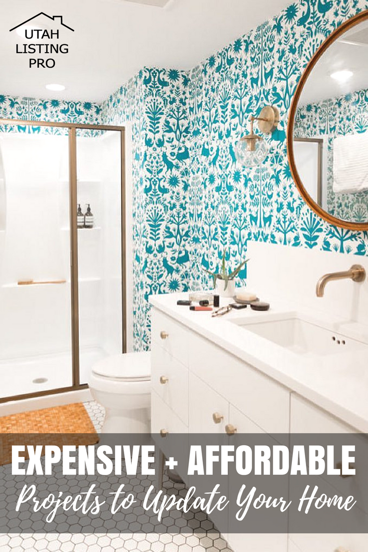 Expensive and Affordable Projects to Update Your Home   Utah Listing Pro   Update Tips, Home Remodel, Home Renovation, Affordable Projects