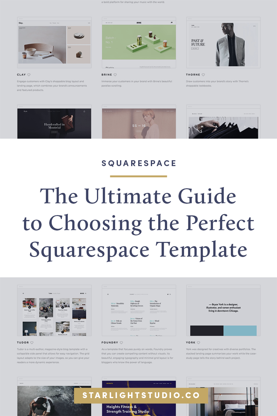 The Ultimate Guide to Choosing the Perfect Squarespace Templates for ...