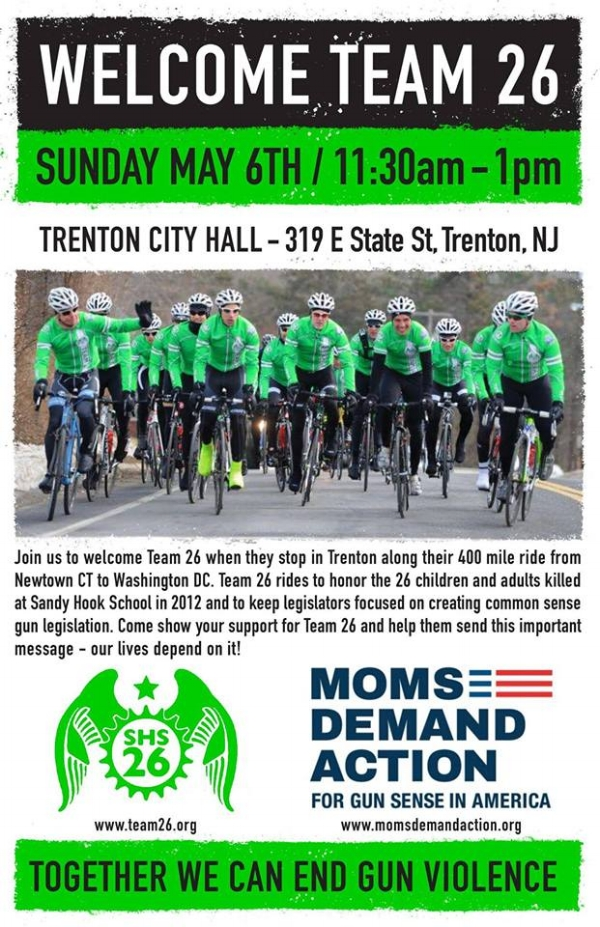 MOMS Demand Action Rally In Trenton For Team 26 GRB Women S