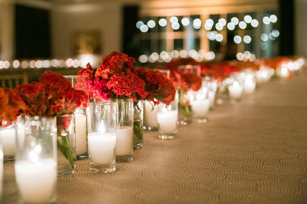 Trang trí tiệc cưới ngoài Việt Nam Bàn tiệc