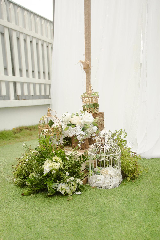 Trang trí Backdrop  đám cưới