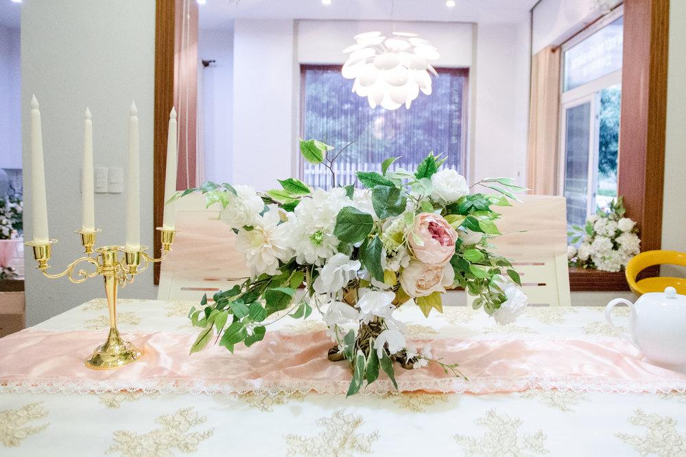 Trang trí Bàn tiệc Lễ đính hôn