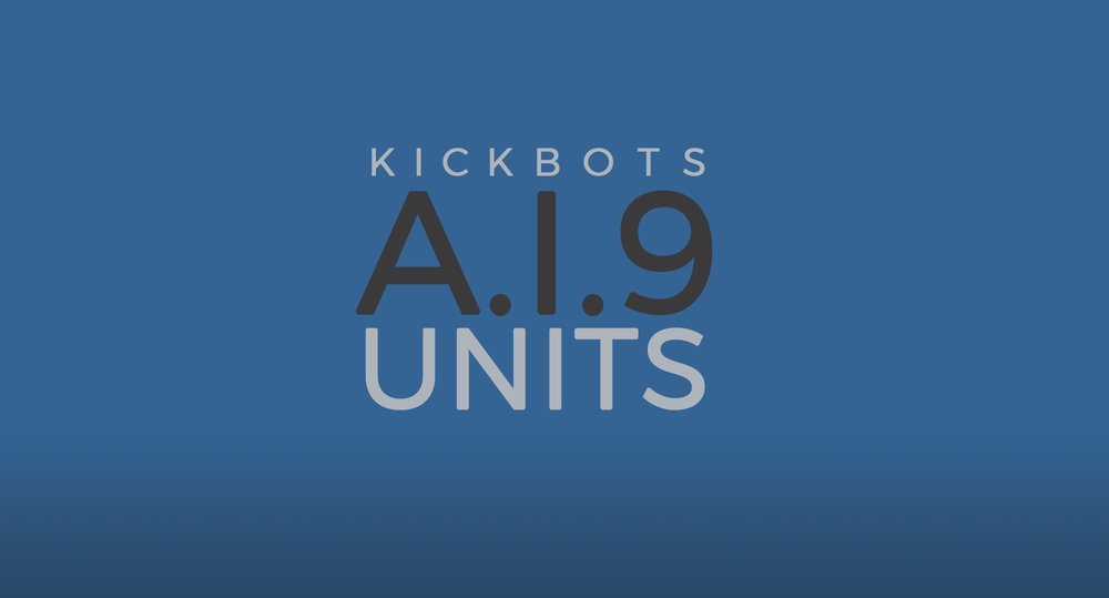 KICKBOTS   Unleashing a new force in crime fighting.