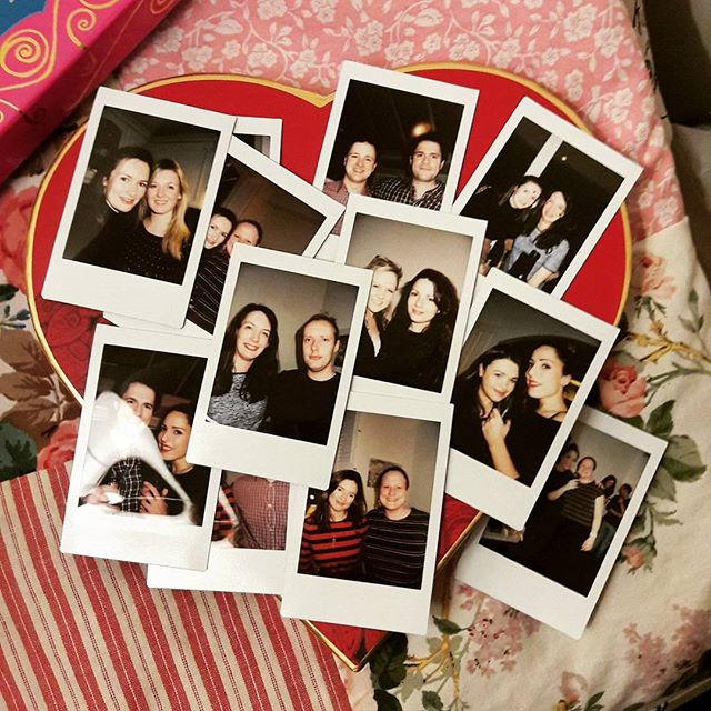 I have come to the conclusion that Polaroids are an essential component of any dinner party