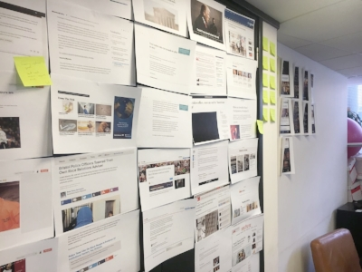 Inside the laborious planning and designing of a news app