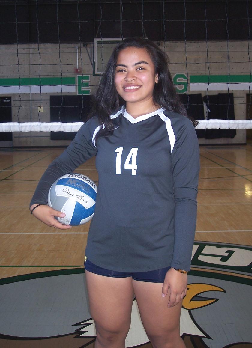 OH #14 Kaleena Ugaitafa  Encinal HS/Alameda, CA