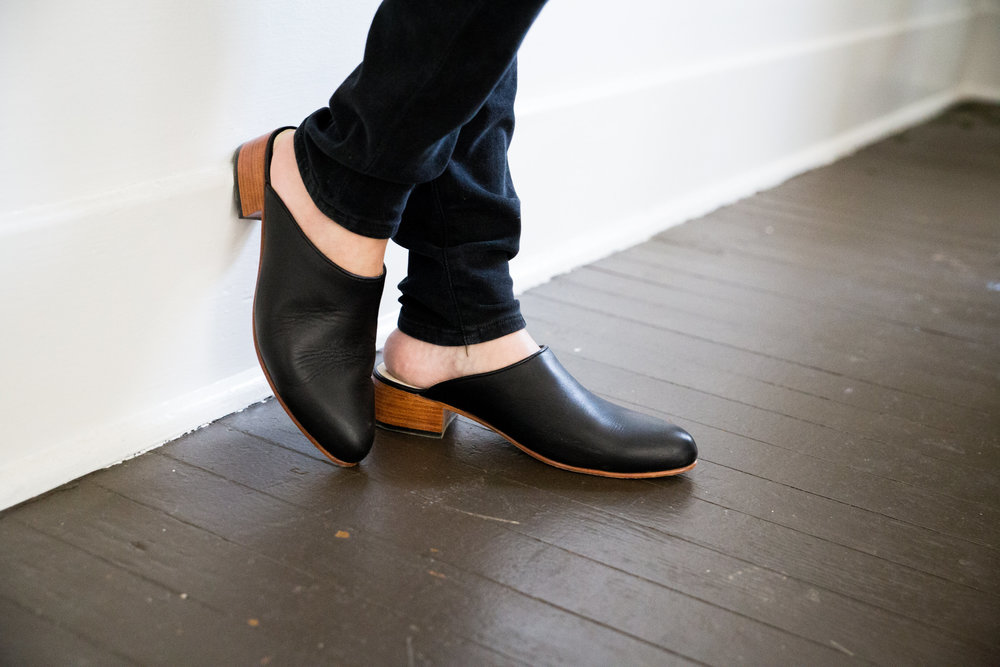 Pictured: Mariella Mule in Noir