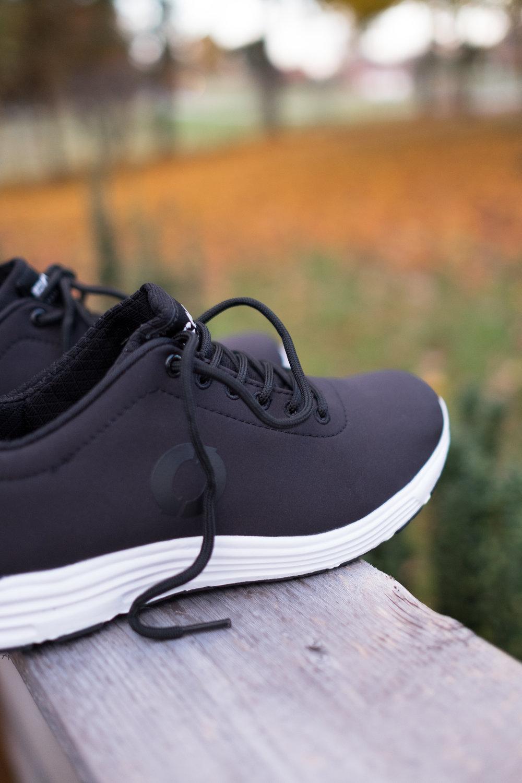 Pictured: California ECOALF logo sneaker in black