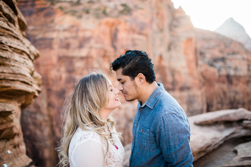 Shara-Axel-Zion-National-Park-Engagements