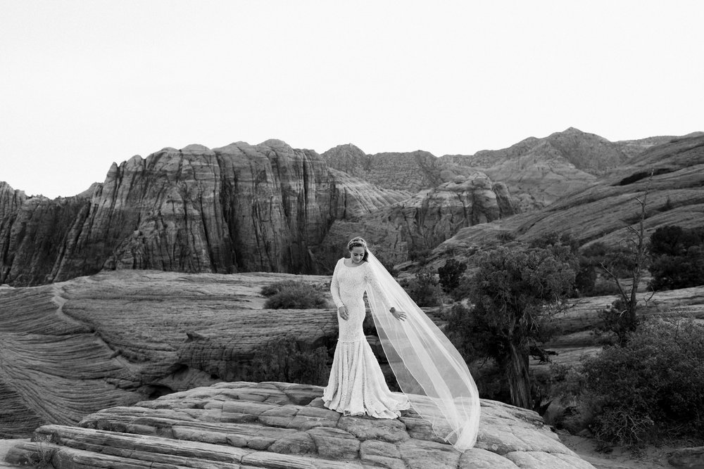 Red Rock Bridal Session