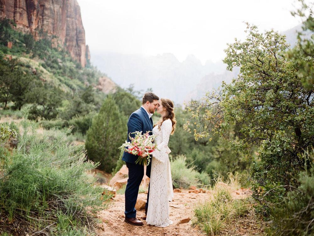 Zion National Park Wedding Photographer