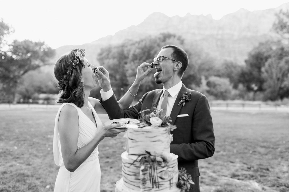 Zion Wedding at Switchback Grille