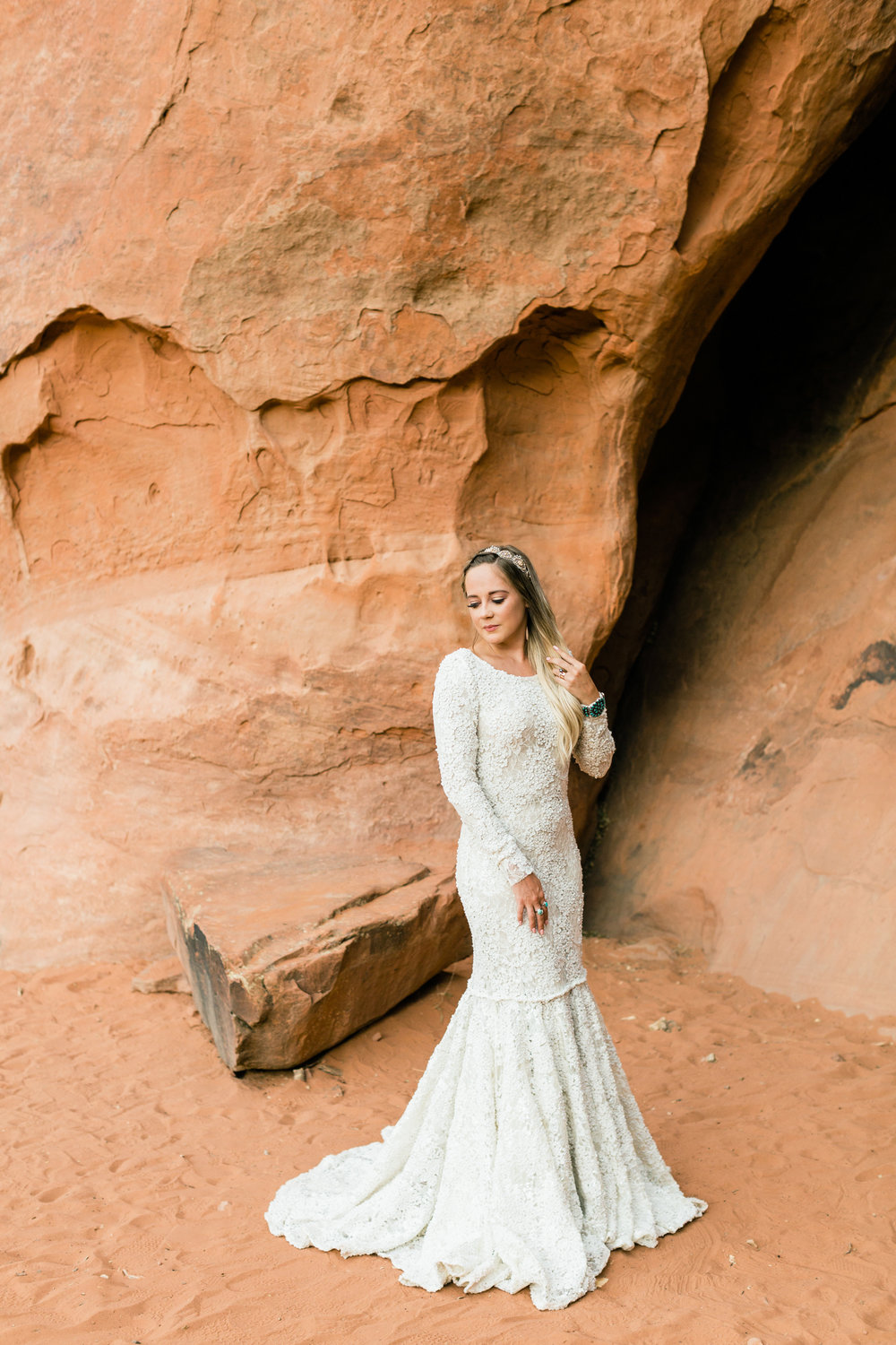 Red Rock Bridal Session 2