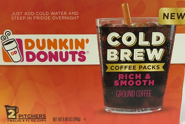 Dunkin' Donuts Cold Brew Coffee