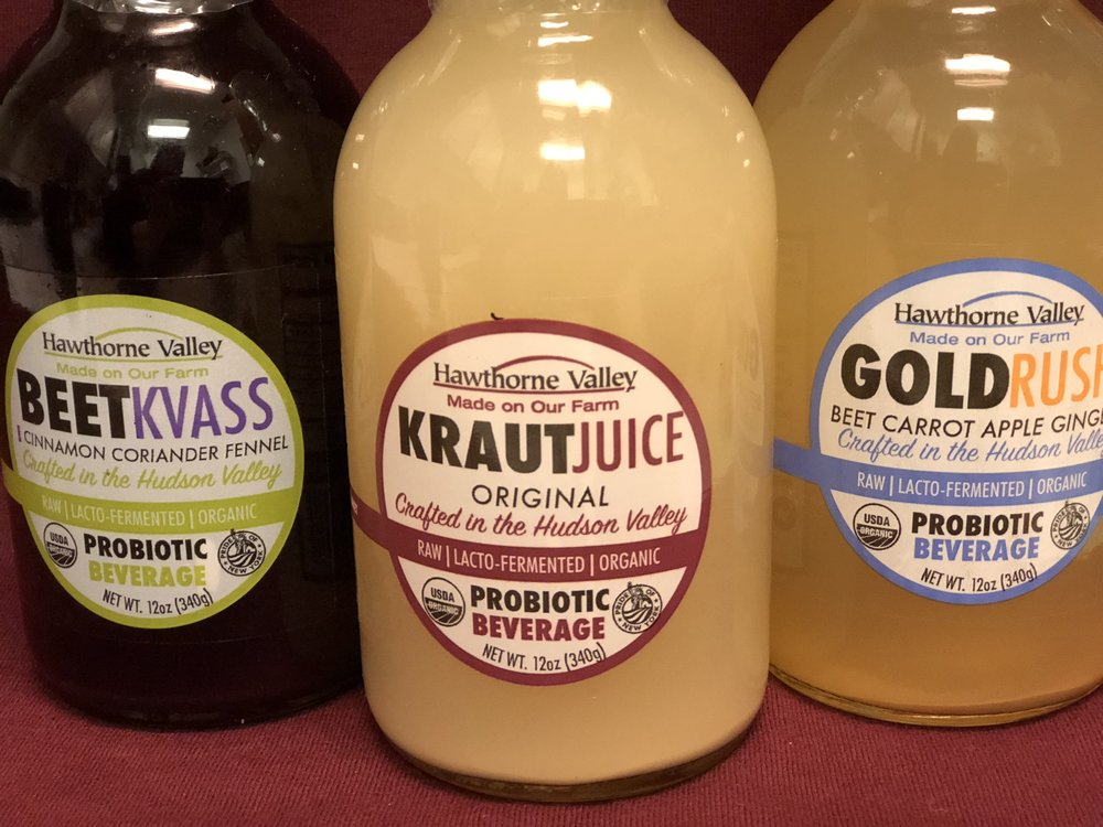 Hawthorne Valley Juices