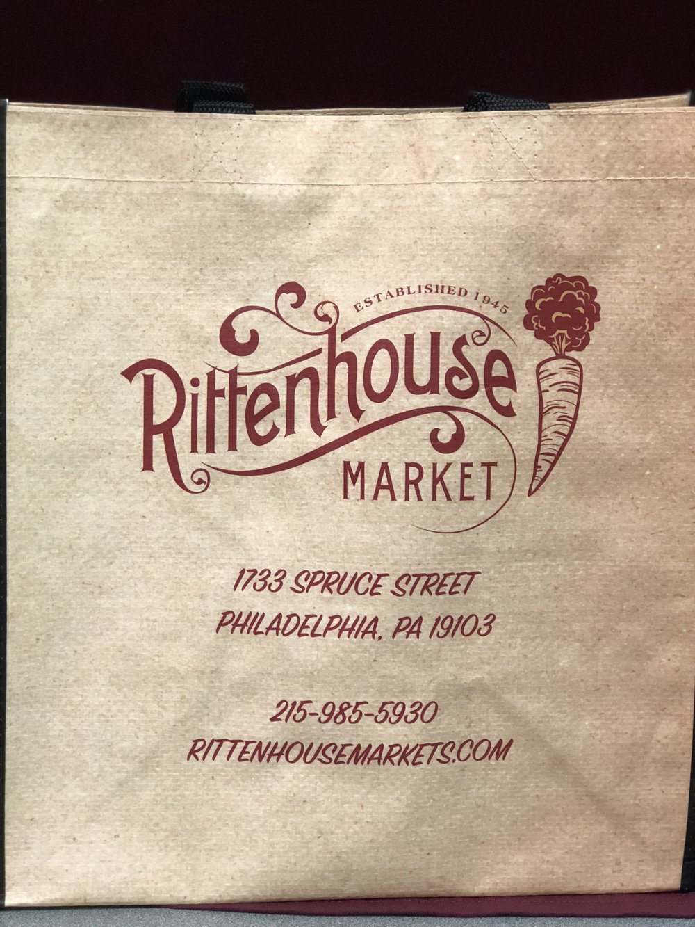 Rittenhouse Resuable Totes