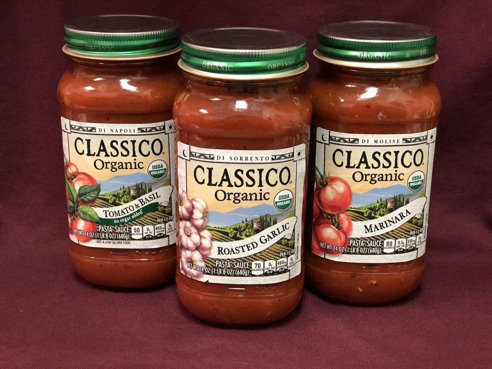 Organic Classico Pasta Sauce
