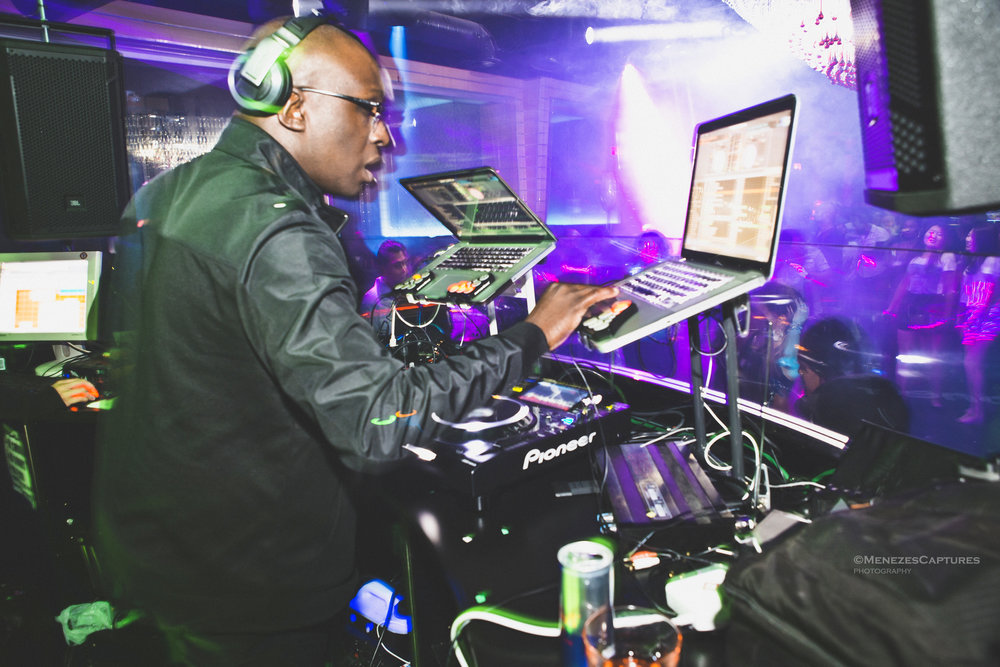 DJ Jester performs at an event (2017)