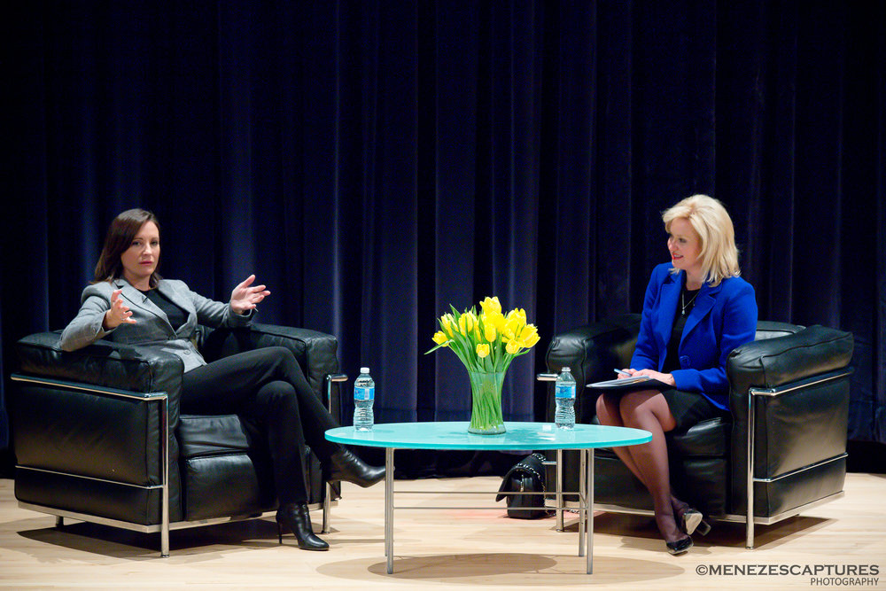 Mayor Bonnie Crombie at her Youth Speaker Series (2016)