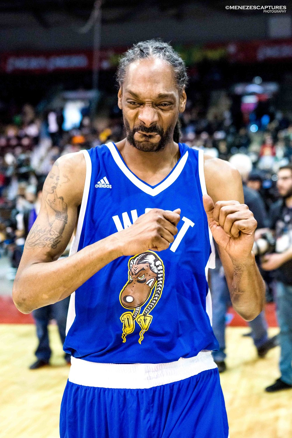 Snoop Dogg at the 2017 NBA All Star Game in Toronto