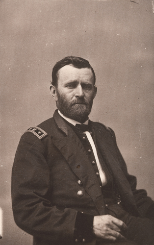 Ulysses S. Grant Mathew Brady Studio (active 1844–94) Modern albumen silver print from 1864 wet-collodion negative NPG.81.M108.D1