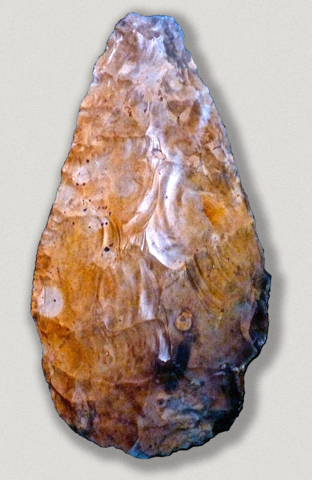 Very large handaxe from Furze Platt, Berkshire, Great Britain Source: Wikipedia