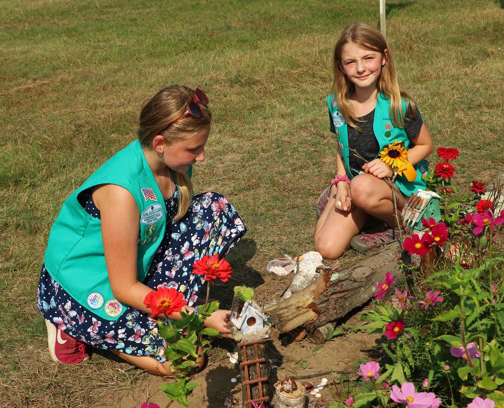 Art Exhibit - Girl Scouts kneeling.jpg