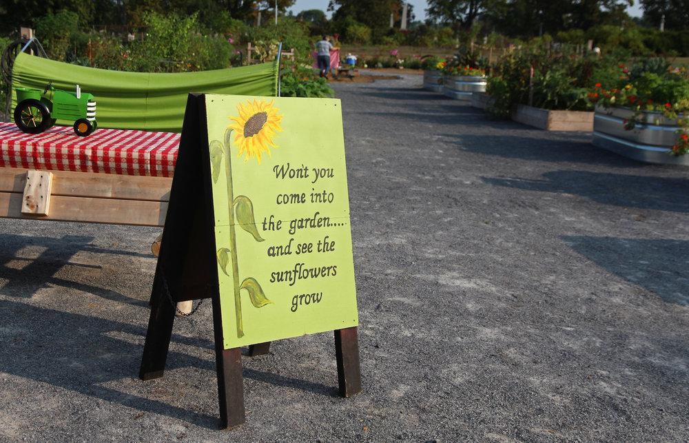 Art Exhibit - Sunflower Welcome Sign.jpg