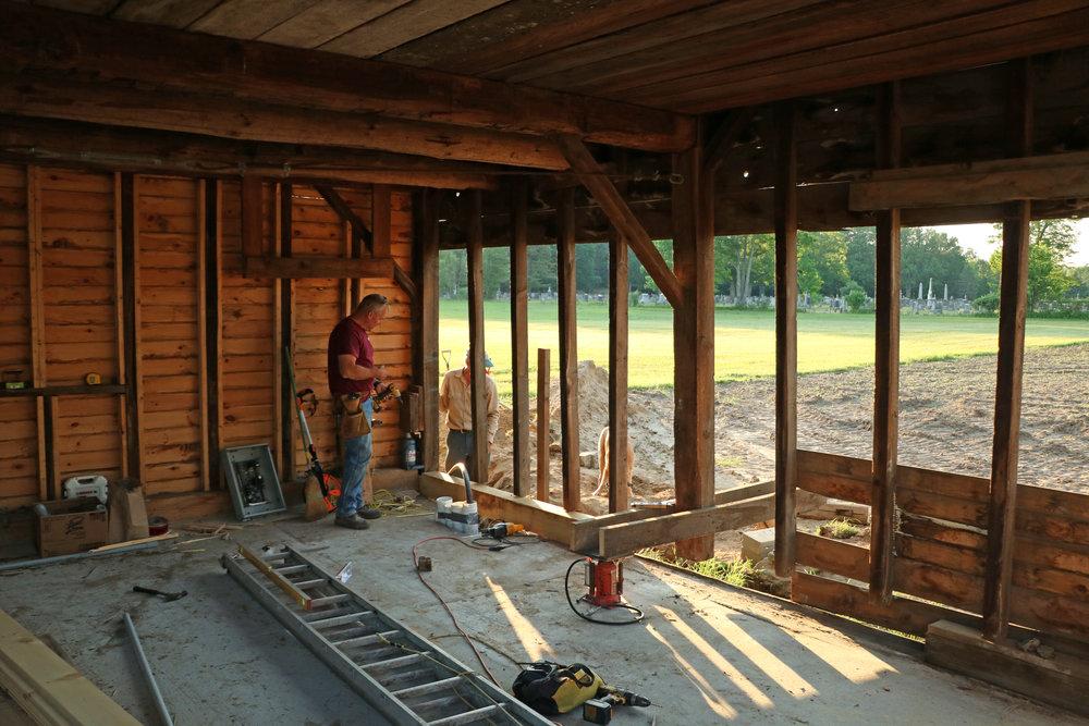 Community Gardens - Barn RepairJPG.JPG