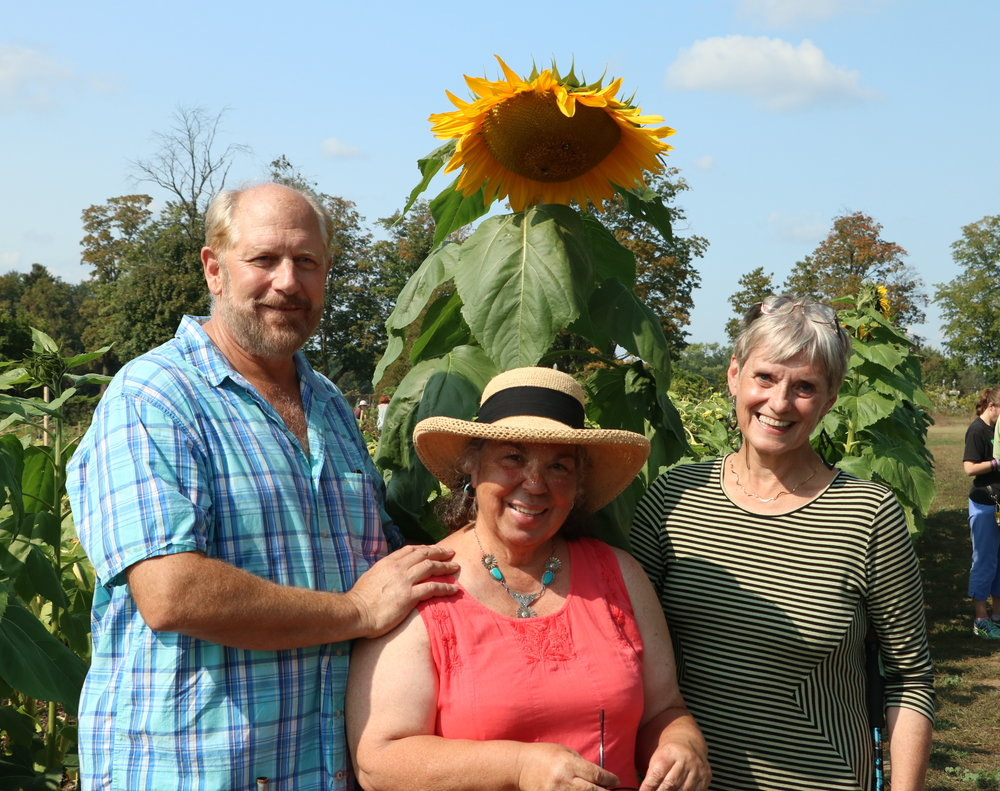 Community Gardens - Sunflower Contest Group ShotJPG.JPG