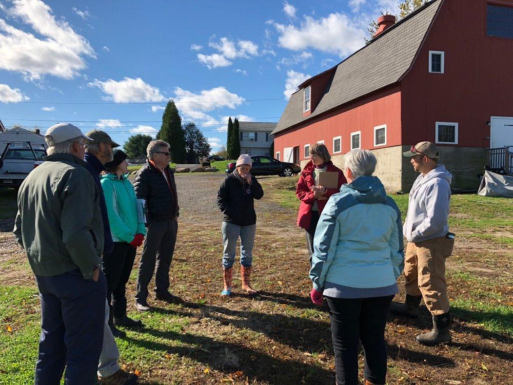 The PMCF Team at Massaro Community Farm, CT