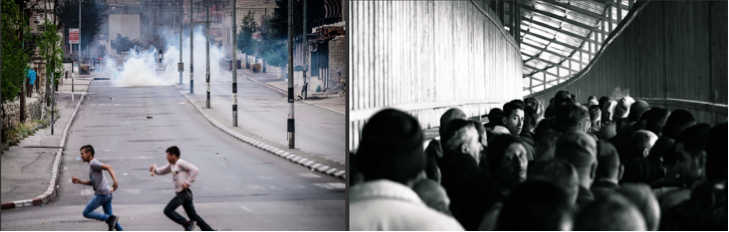 (photos: Steve Pavey, 2016 - Bethlehem and Checkpoint 300 respectively)