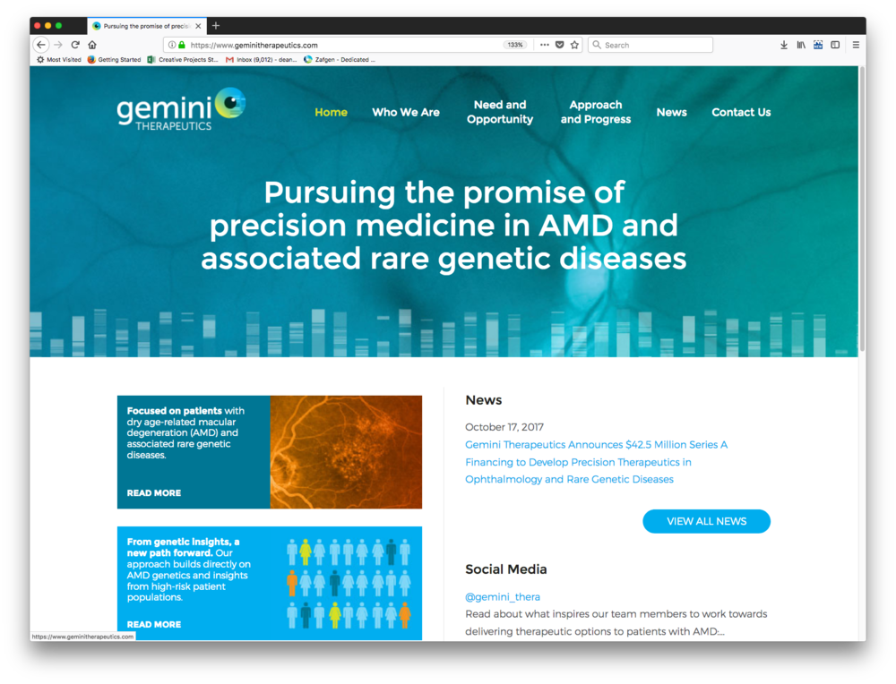 Gemini Therapeutics