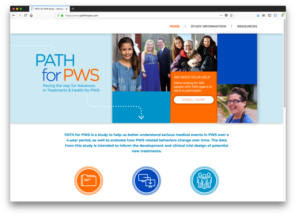 Path for PWS