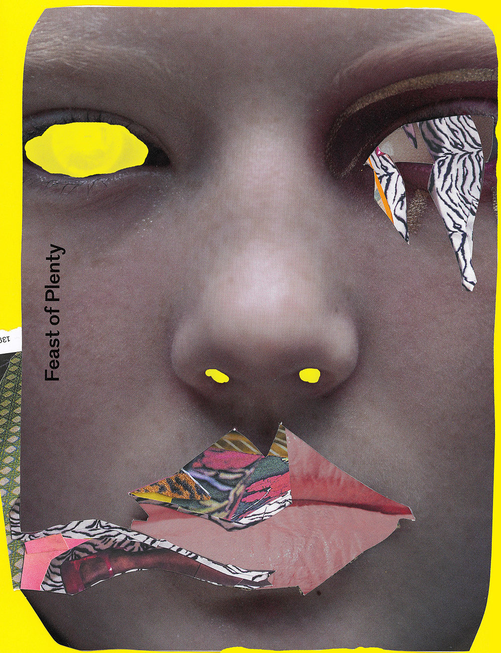 Lippy, 16''x20'' pigment print