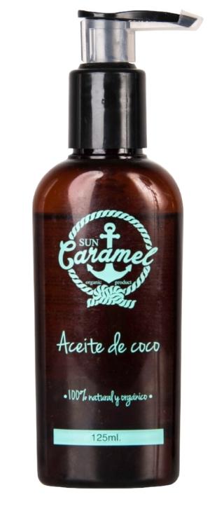 Aceite de coco Sun Caramel $163