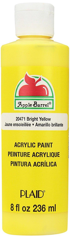 Yellow Craft Paint