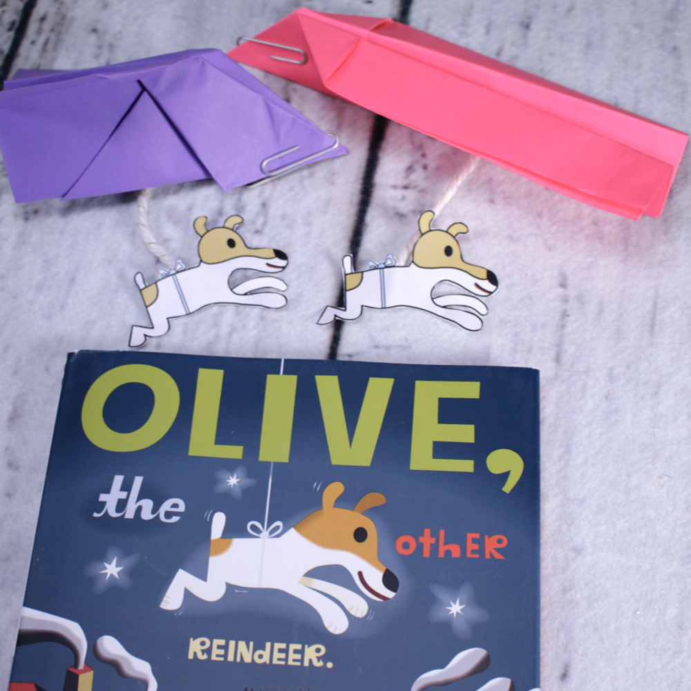 Olive the Other Reindeer STEM