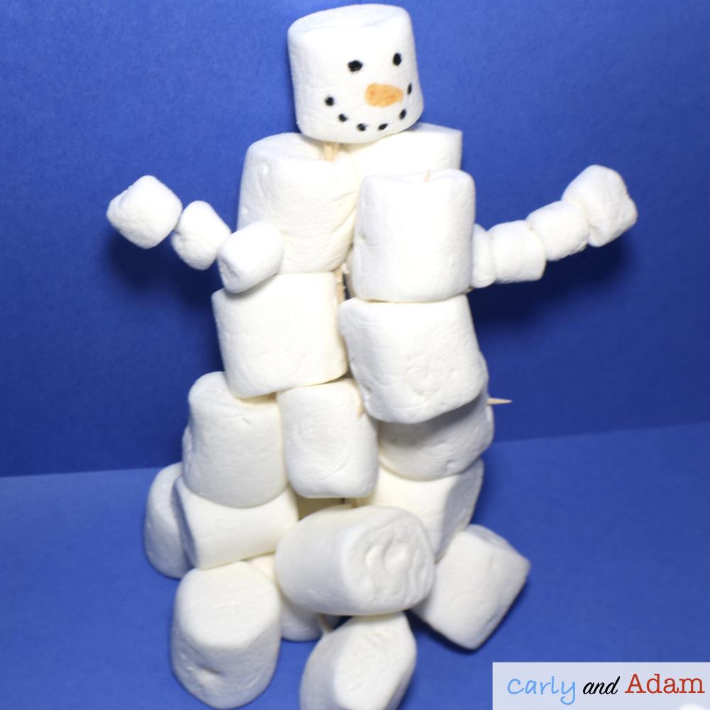 Build a Snowman STEM
