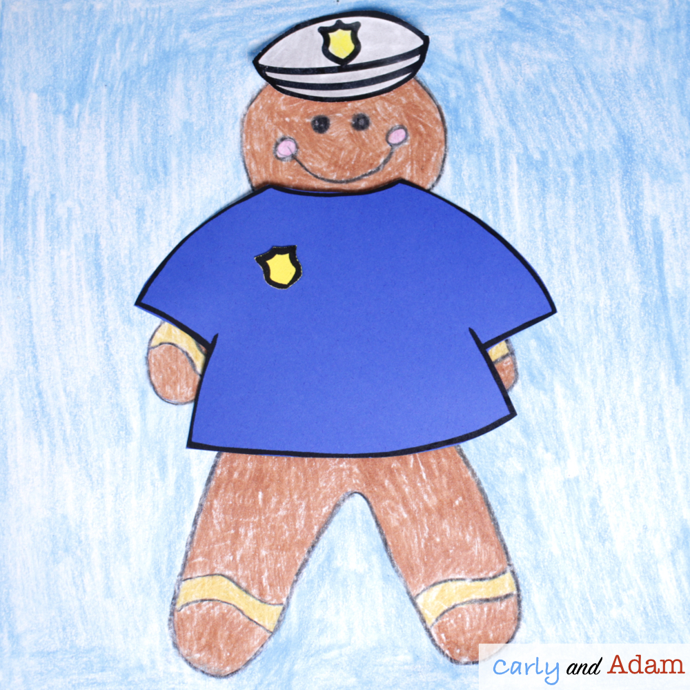 Disguise a Gingerbread Man STEAM Activity