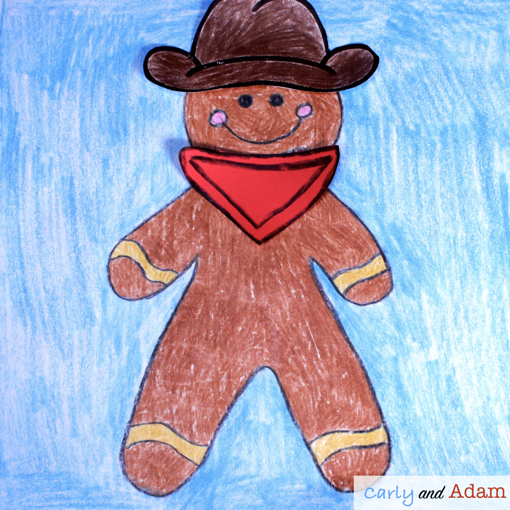 Disguise a Gingerbread STEAM Activity