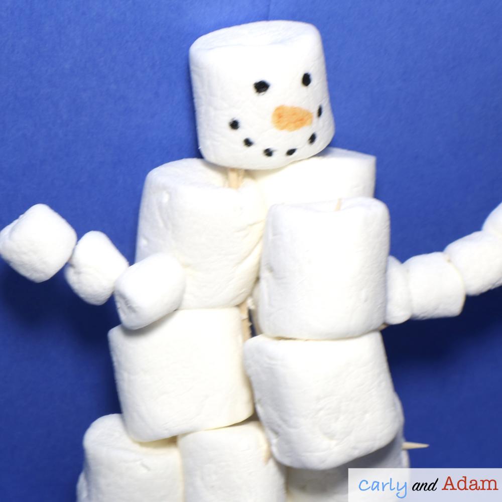 Build a Snowman STEM Challenge