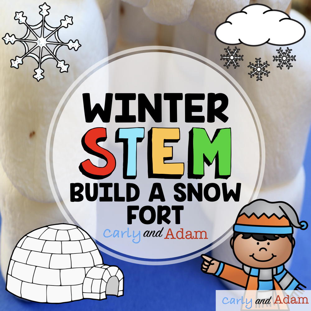 Build a Snow Fort STEM Challenge