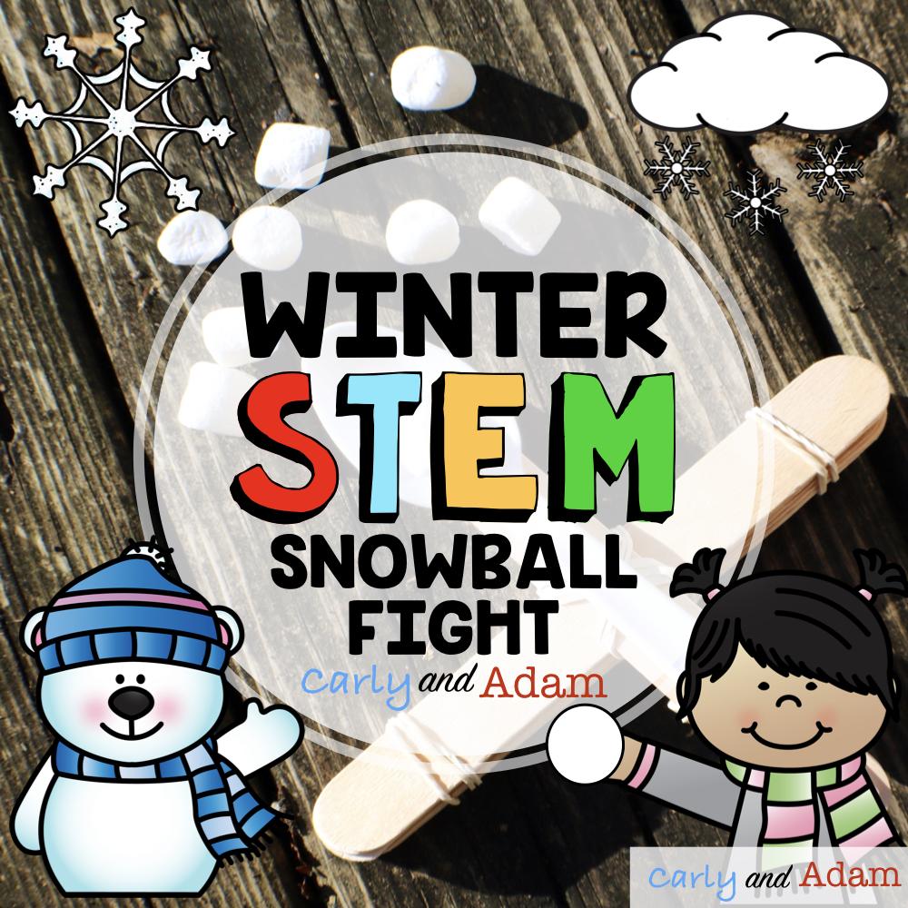 Snowball Fight STEM Challenge
