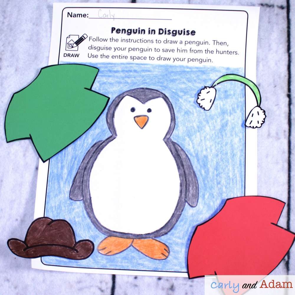 Tacky the Penguin Disguise a Penguin STEM Activity