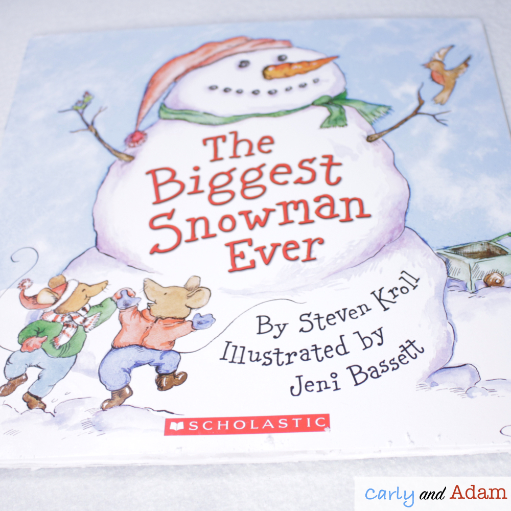 The Biggest Snowman Ever Winter Read Aloud STEM Activity