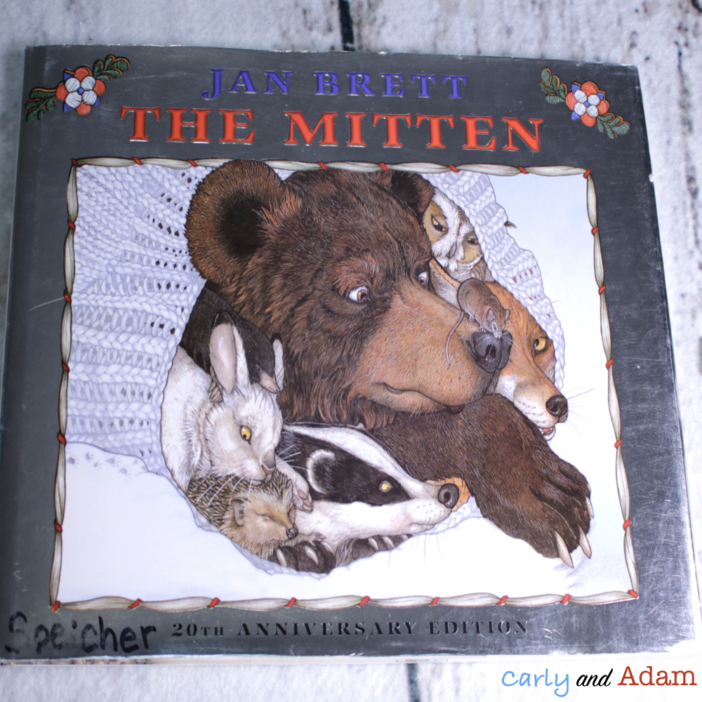 The Mitten Winter Habitat STEM Activity